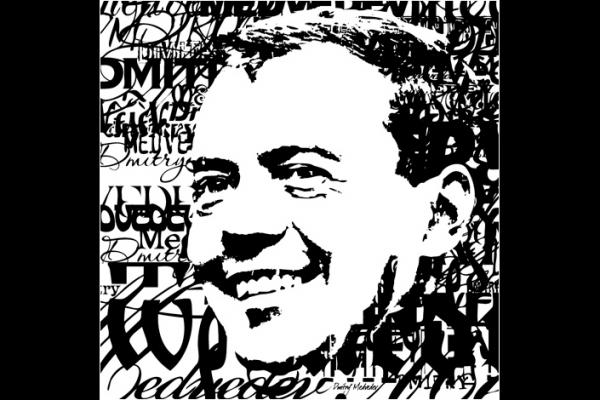 Dmitry Medvedev by Vadim